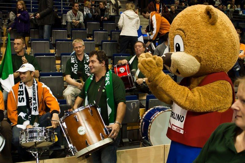 SCC Berlin vs. NETZHOPPERS KW-Bestensee